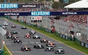 melb F1 start